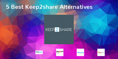 Keep2share Alternatives