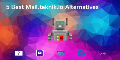 Mail.teknik.io Alternatives
