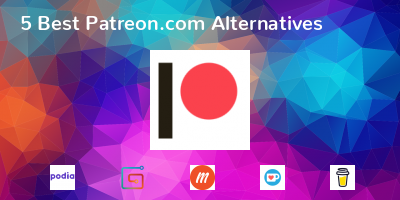 Patreon.com Alternatives